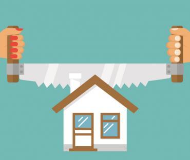 как считать налог при разделении квартир и объединении квартир, как считать срок владения в этом случае.